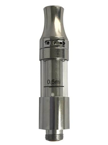 Thunder oil cartridge with removable heating element and top airflow