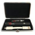 Thunder oil vaporizer pen kit with top airflow cartridge