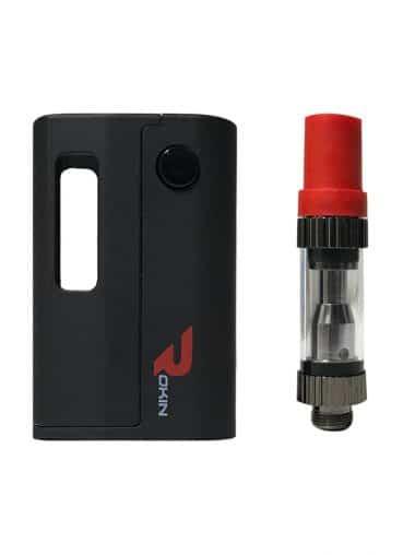 Mini Tank oil vaporizer pen with removable inner heating element
