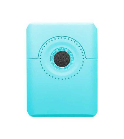 Blue Dial oil vaporizer back view