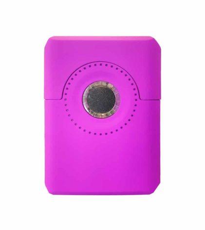 Purple Dial oil vaporizer back view