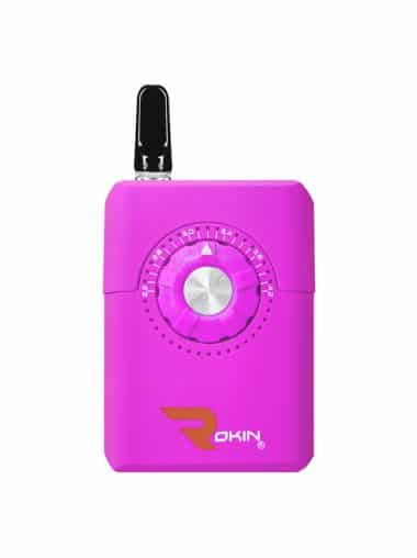 Purple Dial oil vaporizer with cartridge