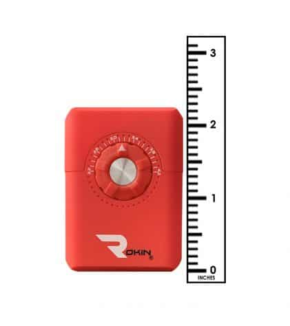 Rokin Dial vaporizer red color size