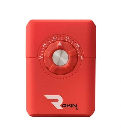 Rokin Dial vaporizer red color front view