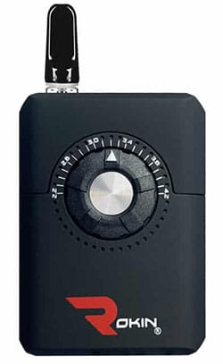 Dial oil cartridge battery